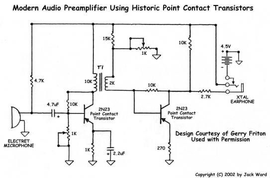 Transistor Museum Construction Projects Point Contact Western