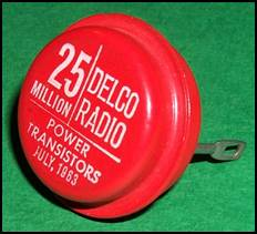 Delco 25 Million Power Transistor